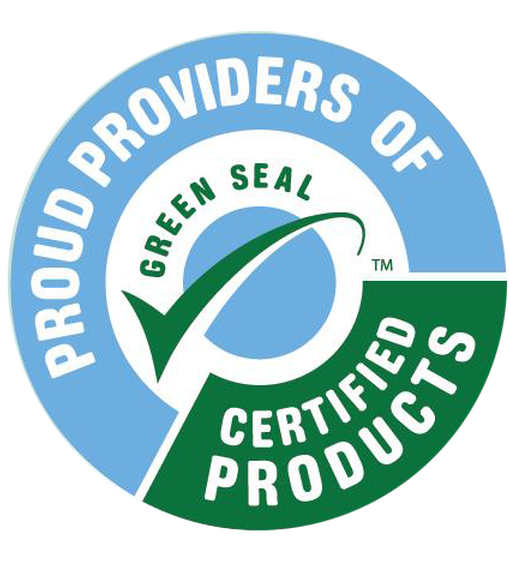 Proud Providers of Green Seal Certified Products